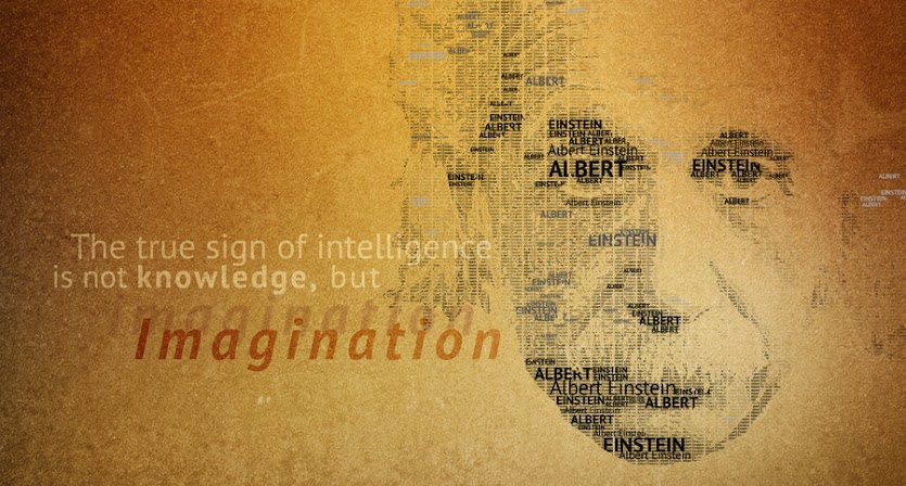 intelligence-is-not-knowledge-but-imagination-albert-einstein